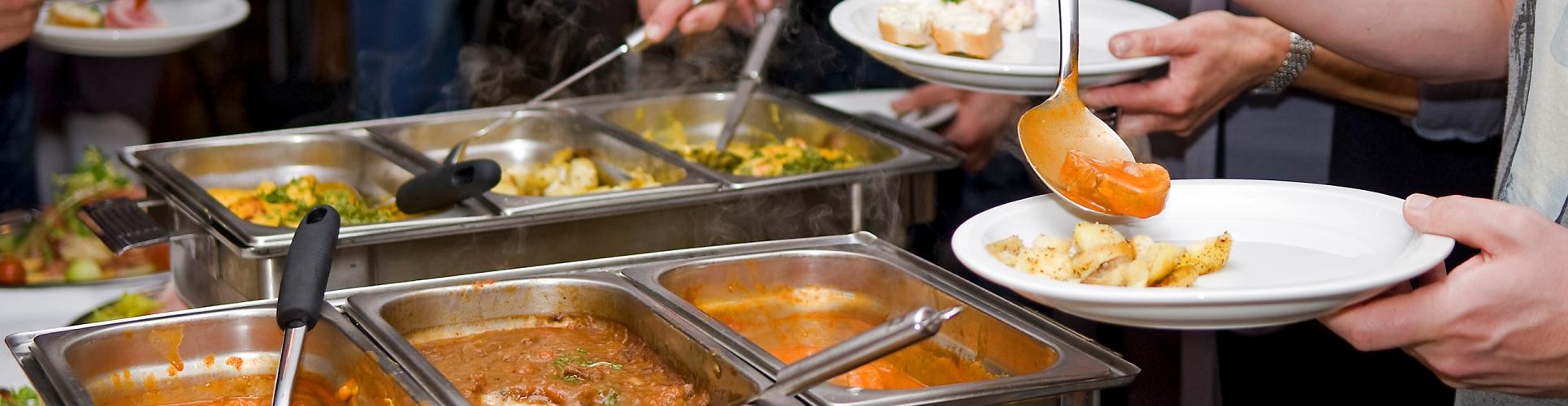 Koud warm buffet, de blikvaart, Sint Annaparochie